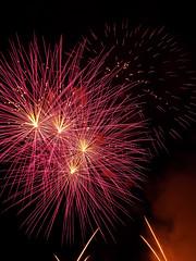 Pink is the word (malwiewen) Tags: pink sky night fireworks firework monopoli