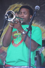 Free Agents Brass Band (2014) 05 - trumpet player