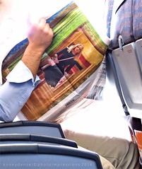 Fly With Me - Vuela Conmigo (Konny :-))) Tags: newspaper zeitung giornale journal periódico jornal sanomalehti airplane flugzeug