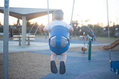 Toddler Swinging (Shondra Walker) Tags: sunset swing getty swinging toddlerboy toddlerboyswinging