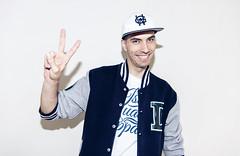 Dancer 10 (ilyusheen) Tags: boy portrait man smile wall hoodie style tshirt dancer victory cap hiphop friendsproject fp01 ilyadesign