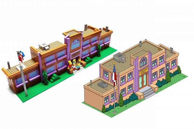 Simpsons Springville 樂高辛普森小鎮 展覽