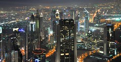 Dubai at night (Stephen & Claire Farnsworth) Tags: city night dubai nightscape