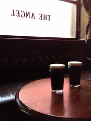 Stoutness at The Angel (looper23) Tags: uk england house london public angel pub sam july smith pint stout 2014