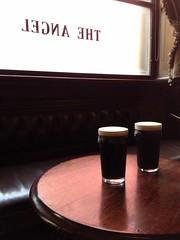 Stoutness at The Angel (looper23) Tags: uk england house london public angel pub sam july smith pint stout 2014