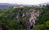 (HolmisticWalker) Tags: cliff church forest 50mm slide canyon slovenia ii epson agfa jame expiredfilm rsx škocjan v750 divača škocjanske
