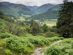 Walking into Borrowdale (Bob Radlinski) Tags: uk greatbritain travel england europe lakedistrict cumbria nationaltrust lakeland borrowdale watendlath