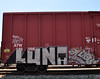 LUNA & QUAS. (NTHESTREETS) Tags: streetart graffiti orlando florida traintracks tracks trains cargo luna rails spraypaint boxcar graff railways freight trainyard trackside csx freights spraycans quas theyard monikers moniker benched benching fr8s fcen nthestreets