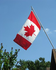 """""""The Canadian Flag"""" (ellenc995) Tags: canada flag mapleleaf redwhite supershot coth thesunshinegroup challengeclub coth5 concordians citrit challengeclubchampion abigfave akob thegalaxy 100commentgroup"""