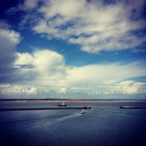Ah, de zee #esbjerg