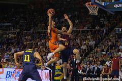 Partit bàsquet playoff FC Barcelona València basket