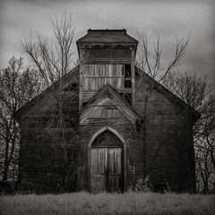 the moving spirit (Rodney Harvey) Tags: abandoned church rural spirit decay country missouri infrared forsaken left