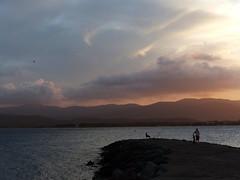 (MAGGY L) Tags: sunset mer clouds seaside ctedazur ciel nuages soir crpuscule sud mditerrane straphal pchelaligne dmcfz200