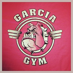 Get to the gym. Garcia Gym. #tshirts #expertees #gym #workout