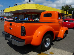 1949 Ford COE F-6 (bballchico) Tags: ford coe 1949 2014 goodguys f6 goodguyspacificnorthwestnationals 2012f450box 1977frame wayneshawgo reneeshawgo goodguys27thpacificnorthwestnationals