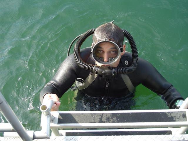 Something scuba gear fetish that interrupt