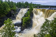 Kakabeka Falls (Ian David Blüm) Tags: bridge ontario nature water forest river landscape waterfall falls northern kakabeka