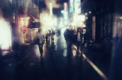 umbrella umbrellas tokyo japan street tokyostreets... (Photo: Brendan Ó Sé on Flickr)