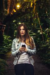 luanna (Andrey Germano) Tags: brazil woman girl forest blond blumenau luanna