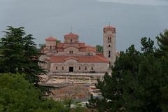 Saint John and Saint Panteleimon's (access.denied) Tags: macedonia ohrid clement byzantium fyrom kliment plaosnik plaošnik