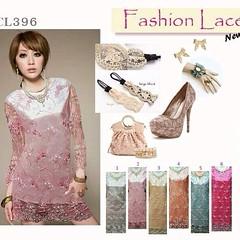 CL396 ส่ง 990 Elegant metalic silk lace classy dress  ♡elegant effortless fashion boutiques are exclusive and classy at the same time♡ เดรสลูกไม้ฝรั่งเศสลวดลายดอกไม้สวยงาม โทนสีสุภาพหรูหรา ทรงเข้ารูปสวยค่ะ  ซับในเป็นผ้าเครปซาติน  ตัดเย็บปราณีต  สินค้า Pre