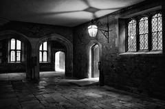 Medieval illuminate. (mkfeeney) Tags: england blackandwhite london history architecture nikon royal medieval trust palaces hamptoncourtpalace tudors nikond7000