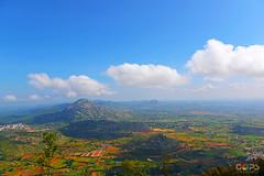 VIEW FROM NANDI HILLS, BANGALORE (GOPAN G. NAIR [ GOPS Creativ ]) Tags: tourism photography bangalore hills nandi karnataka nair gops gopan gopsorg gopangnair gopsphotography