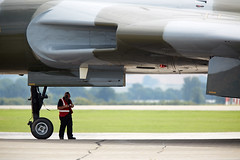 Vulcan (Bernie Condon) Tags: avro vulcan bomber raf vtts xh558 vbomber jet military warplane aviation aircraft plane flying airshow airday display vintage preserved yeovilton faa rnas