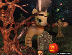 Haunted Dimension Episode 1 (DerpyDerp910) Tags: girls toy toys is rainbow power friendship little magic pony fim mania hasbro mlp hooves derpy my breezies equestria mlpfim zecora derpyderp910 ponymania