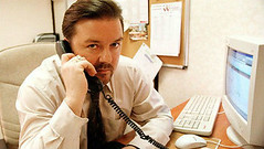 Ricky Gervais says David Brent film is almost a musical (cinvoxx) Tags: david film musical brent almost says ricky gervais
