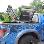 Black Aluminum Bed Cover on Ford Raptor thumbnail