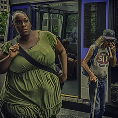 Public Transportation (Culture Shlock) Tags: street people bus men public women ride commute fare transporation fares rideshare