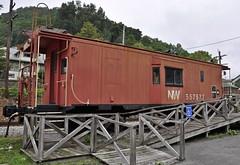 War, West Virginia (1 of 5) (Bob McGilvray Jr.) Tags: railroad station train war nw tracks caboose westvirginia depot passenger past freight norfolkwestern nickelplateroad nkp