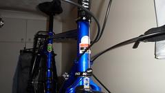 Hewitt Cheviot Touring Bike Flamboyant Blue (Large) (drbw120367) Tags: hewittcheviotinflamboyantbluelarge shimano xtr xt dura ace chris king deda thomson kcnc dt swiss continental gator hardshell alpine iii oversize100 elitex4avidshorty6duraacestidtswisstk540chriskingsramcateyenimacateyeld600ptfeduraacecablethomsonskscontinentalgatorhardshellblackburncl2ex2reynolds631700x28 tourer racing handlebars touring bike retro pannier bolts bespoke reynolds elite x4 hudz orings ptfe spokes black mudguards hewitt cycles crystal swarovski presta valve mountain mudflap 443222t bars stem seatpost saddle b17 special carbon 272mm 318mm 18 1132t 1725mm cheviot large flamboyant blue frame steel vintage 700c 36h silver brooks modern steed road chrisking blackburn