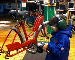 P1-Project-City-Bike 14 (@WorkCycles) Tags: old city bike vintage cool fifties child belgium belgie president retro henry 1950s restoration oud p1 tailfin restauratie kinderfiets stadsfiets workcycles revisie