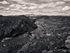 River (eirikj) Tags: bw norway canon river powershot filefjell oppland tonality g1x