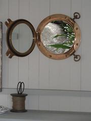 Porthole in the summer house (francesdyer333) Tags: architecture window portal architektur