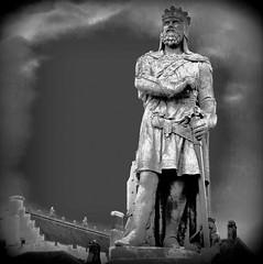Robert the Bruce (perseverando) Tags: statue scotland stirling robertthebruce perseverando