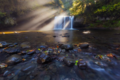 You 'Beaut (Dylan Toh) Tags: light usa sun oregon landscape photography waterfall silverton filter pacificnorthwest reel cameraclub everlook exposureblend rawfiles scottsmills buttecreekfall upperbuttecreek