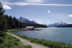 Maligne lake (Ziva_Amir) Tags: lake landscape rockies jasper canadian maligne