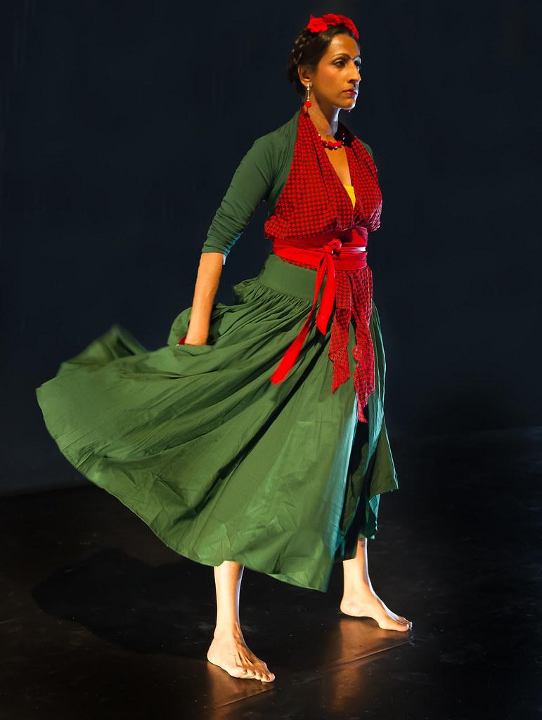Kalpana als Frida - foto Simon richardson