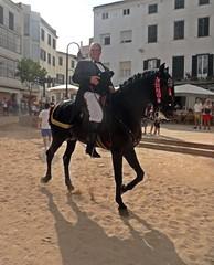 Cavaller (Bricheno) Tags: dadegrcia horse cavall caballo marededudegrcia festesdelamarededudegrcia festesdelamarededeudegrcia festesdegrcia fiesta menorca minorca mahon mahn portmahon mao ma island balearics baleares mediterranean bricheno illesbalears spain espaa islasbaleares balears mediterrnia espana 2014 espanya hiszpania spanien spagna   spanje espanha