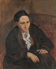[ P ] Pablo Picasso - Portrait of Gertrude Stein (1905-1906)