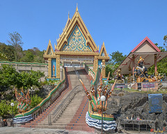 Wat Khao Rang Ubosot Gate (DTHP0541) วัดเขารัง ทรวาร อุโบสถ