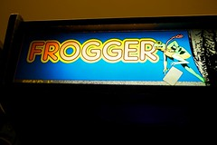 Frogger (little fern photography) Tags: show seattle fire jump nw shoot northwest buttons arcade hobby joystick retro videogames 80s button pacificnorthwest sega videogame hobbies frogger highscore gameroom pacificnw arcadegame arcardes nwpinballandgameroomshow