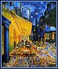"Kopie des Gemäldes ""Terrasse du café le soir"" nach Vincent van Gogh (LOMO56) Tags: kunst vangogh modernekunst gemälde ölgemälde zeitgenössischekunst acrylgemälde berühmtekunstwerke"