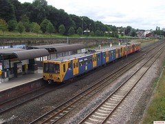Tyne and Wear Metro-Metrocars 4024 and 4065 at Felling (CoachAlex1996) Tags: light england train newcastle metro north transport rail railway tyne system wear east transportation network passenger tyneandwearmetro metrocar