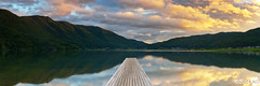 J-u-s-t-T-h-e-W-a-y-Y-o-u-A-r-e (AnthonyGinmanPhotography) Tags: panorama lake clouds sunrise jetty olympus panoramic novoflex kizakiko olympus1454mmf28 leefilters olympuse30