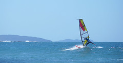 Surf sailing (judith511) Tags: spring vivid flatrock odc lennoxhead capebyron surfsailing wavesailing