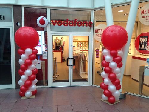 Ballonpilaar Breed Rond Vodafone Capelle aan den IJssel
